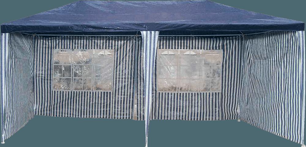Dārza nojume 3x6m ar sieniņām Nojume