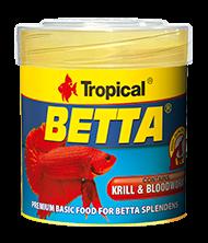 Tropical Tropical Betta 50ml zivju barība