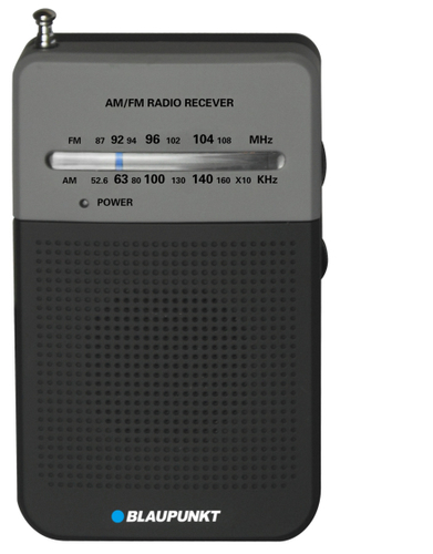 Blaupunkt PR3BK radio, radiopulksteņi