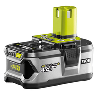 Ryobi Battery 18V 4Ah Li-Ion RB18L40 green