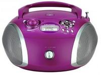 Grundig RCD 1445 USB Purple/silver radio, radiopulksteņi