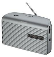 Radio Grundig Music 60, srebrne (GRN1510) radio, radiopulksteņi