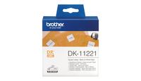 Tape Brother Square Paper Label | 23MM X 23MM X 1000 biroja tehnikas aksesuāri