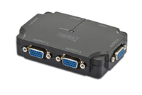 Digitus VGA Splitter 350MHz, 4-Port aksesuārs portatīvajiem datoriem