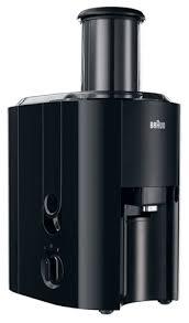 Braun Juicer J 300 800W black - Multiquick 3 Sulu spiede