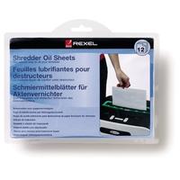 Shredder Oil Sheets (12) papīra smalcinātājs
