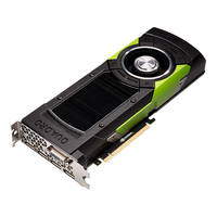 PNY NVIDIA Quadro M6000, 12GB GDDR5 (384 Bit), DVI, 4xDP, PCI-E 3.0 video karte