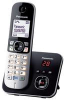 Panasonic KX-TG6821GB Schnurlostelefon with AB black telefons
