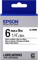 Epson EPSON LK-2WBN Label Cartridge Standard Black/White 6mm (9m) - C53S652003  rezerves daļas un aksesuāri printeriem