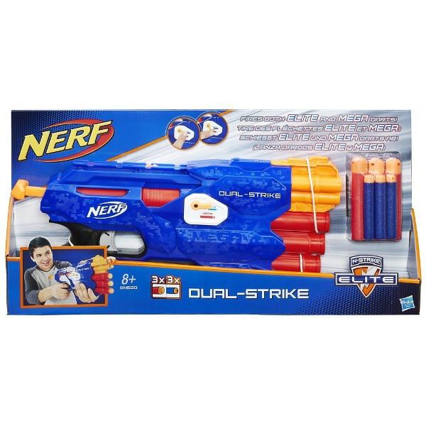 Hasbro Nerf N-Strike Elite DualStrike Blaster Rotaļu ieroči