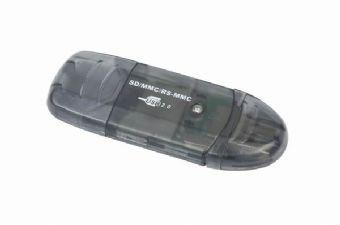 Gembird SD-USB mini card reader/writer karšu lasītājs