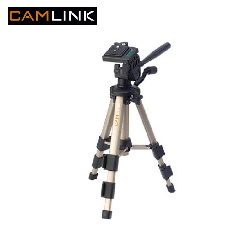 Camlink CL-TP330 Alumīnija statīvs foto/video kamer m ar 3D meh nismu (maks. augstums 61cm) statīvs