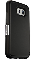 OTTERBOX STRADA GALAXY S6 BLACK maciņš, apvalks mobilajam telefonam