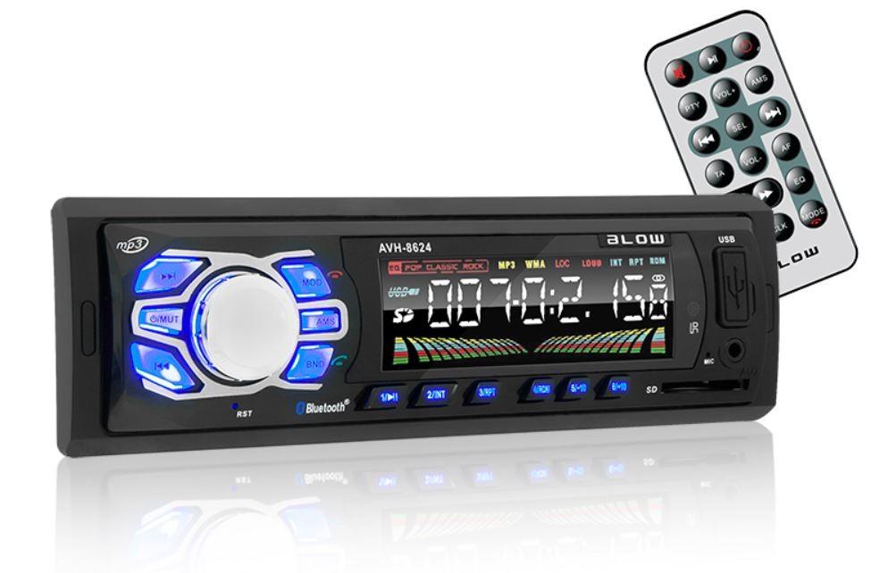BLOW AVH-8624 MP3/USB/SD/MMC/BT automagnetola