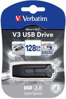 Verbatim  SuperSpeed USB 3.0 128GB Store'N'Go V3 USB Flash atmiņa