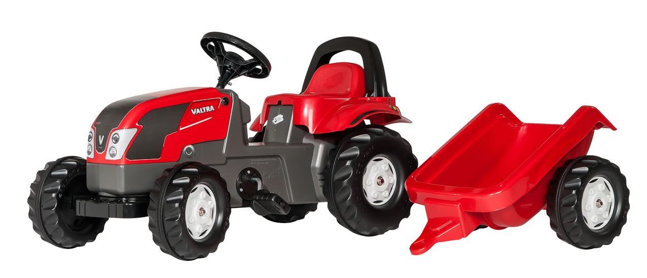 Traktors ar pedāļiem rollyKid Valtra (2.5-5g.)