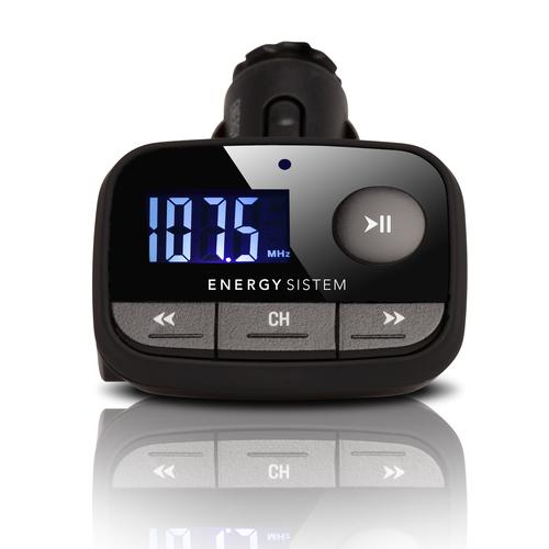 Energy Sistem 384600 F2 auto FM modulators LCD USB+SD, melns. Garantija 3 gadi FM transmiteris