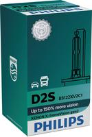 Philips D2S  X-treme Vision +150%  (1pcs.) auto spuldze