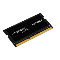 Kingston HyperX Impact Black 4GB DDR3 SODIMM 1866MHz CL11 1.35V operatīvā atmiņa