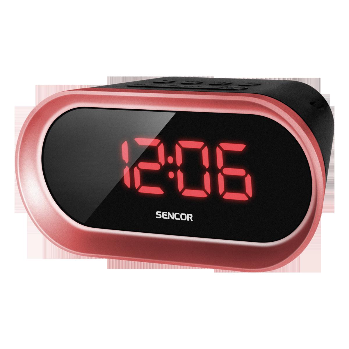 Radio Alarm Clock SENCOR SRC 150 R radio, radiopulksteņi