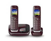 Panasonic KX-TGJ322GR weinrot telefons