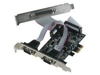 i-Tec PCIe I/O Controller Card 2xSerial RS232/COM+1xParallel/LPT for PCI Expre karte