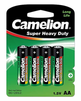 Camelion AA/LR6, Super Heavy Duty, 4 pc(s) Baterija