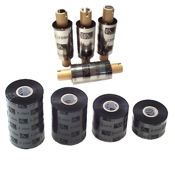Zebra Ribbon, Wax/Resin, 64mm x 74m 12pcs/box, 3200, 03200GS06407, 35-03200GS06407  rezerves daļas un aksesuāri printeriem