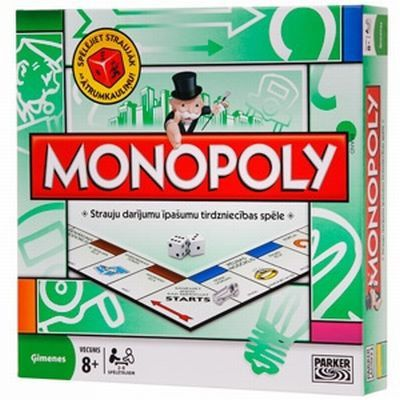 HASBRO Monopoly LV 00009L galda spēle