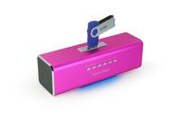 Aktivbox Technaxx MusicMan MA pink pārnēsājamais skaļrunis