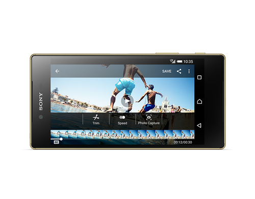 Sony Xperia Z5 Premium E6853 LTE 32GB gold Mobilais Telefons