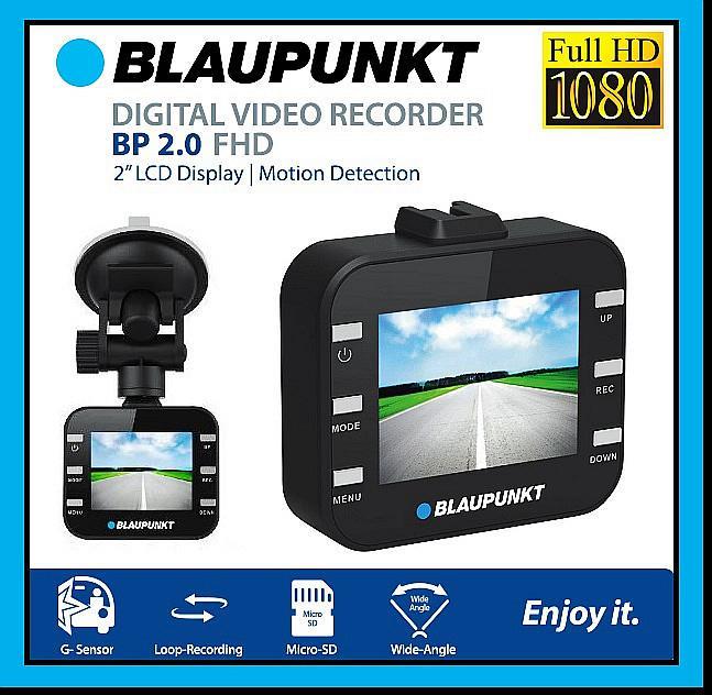 Blaupunkt BP2.0FHD  VIDEO RECORDER FULL HD videoreģistrātors