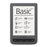 POCKETBOOK Basic Touch 624 black Elektroniskais grāmatu lasītājs
