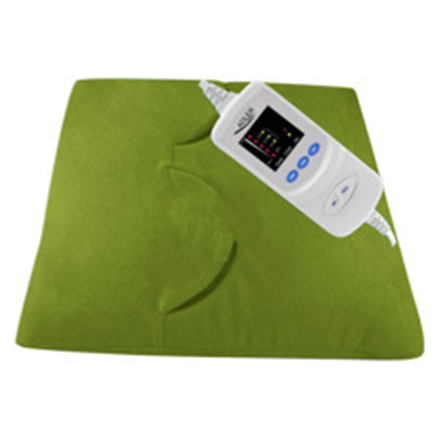 Adler AD 7403 Electric heating pad, Green/ 5 temperature levels/ Two openings for feet, palms/ Over-heating protection/ Temperature controll masāžas ierīce