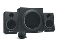 Logitech Z333 speaker set 2.1 channels 40 W Black datoru skaļruņi