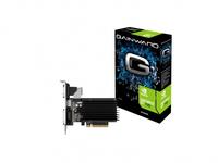 Gainward GeForce GT 730 SilentFX, 2GB DDR3 (64 Bit), HDMI, DVI, VGA video karte
