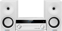 Blaupunkt MS30BT EDITION white, Bluetooth, CD / MP3 / USB / AUX mūzikas centrs