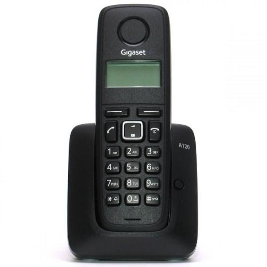 Siemens GIGASET DECT A120 Black telefons