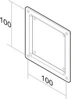 NewStar FPMA-VESA100 VESA adapter plate 10 - 30 tīrīšanas līdzeklis