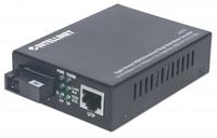 Intellinet Media converter WDM 10/100/1000Base-TX (RJ45) / 1000Base-LX (SM SC) datortīklu aksesuārs