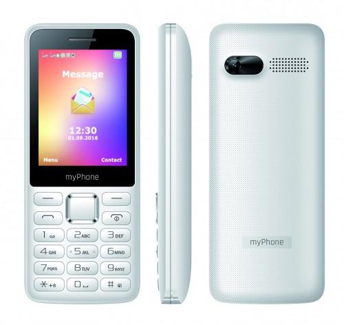MyPhone 6310 Dual white Mobilais Telefons