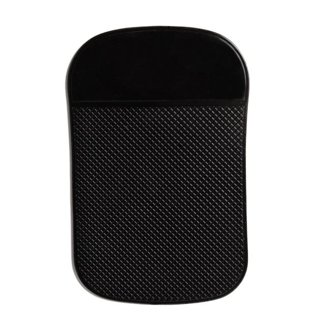 Forever Auto Paneļa Nano Gēla Lipīgs Elements 14x9cm - Telefona / Jebkuras mobīl s iek rtas stiprinājums Melns aksesuārs mobilajiem telefoniem