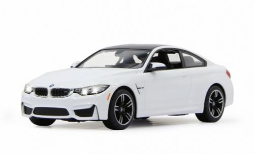 Jamara BMW M4 Coupe 1:14 white 40Mhz Radiovadāmā rotaļlieta