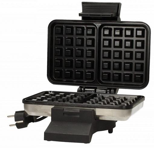 MPM Waffle maker 1000W S633 inox vafeļu panna
