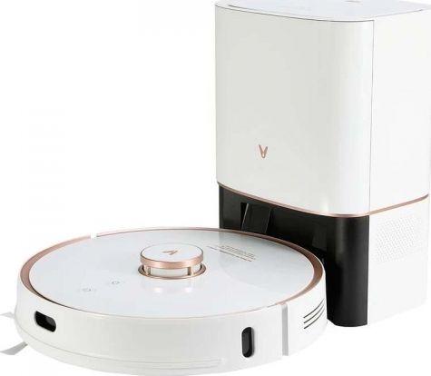 Xiaomi Mi Viomi Robot Vacuum S9 White robots putekļsūcējs