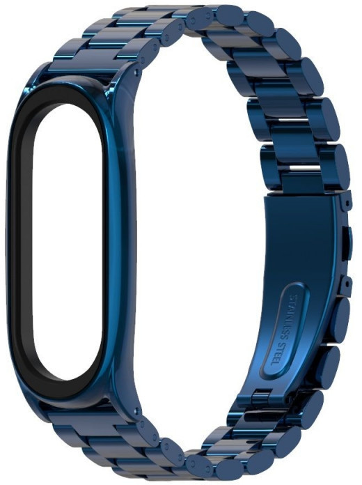 Tech-Protect watch strap Stainless Xiaomi Mi Band 5/6, navy 6216990211348