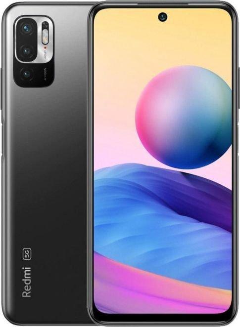 Smartfon Xiaomi Redmi Note 10 5G 6/128GB Dual SIM Czarny  (33262) 33262 Mobilais Telefons