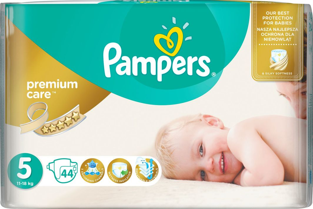 Pampers Premium Care , 5, 11 - 16 kg 44 pc(s)