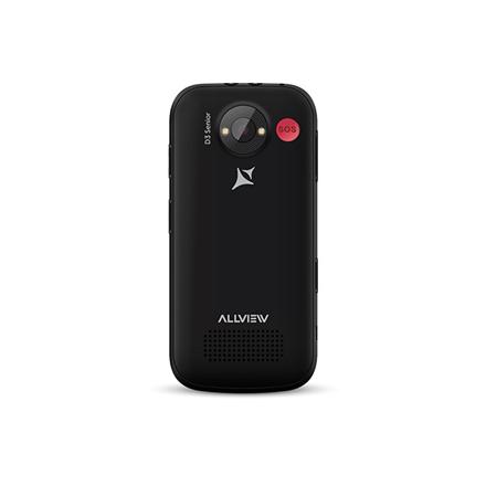 Allview D3 Senior Black, 2.31 , TFT, 240 x 320 pixels, 8 MB, 16 MB, Dual SIM, Mini SIM, 3G, Bluetooth, 2.1, Built-in camera, Main camera 2 M Mobilais Telefons