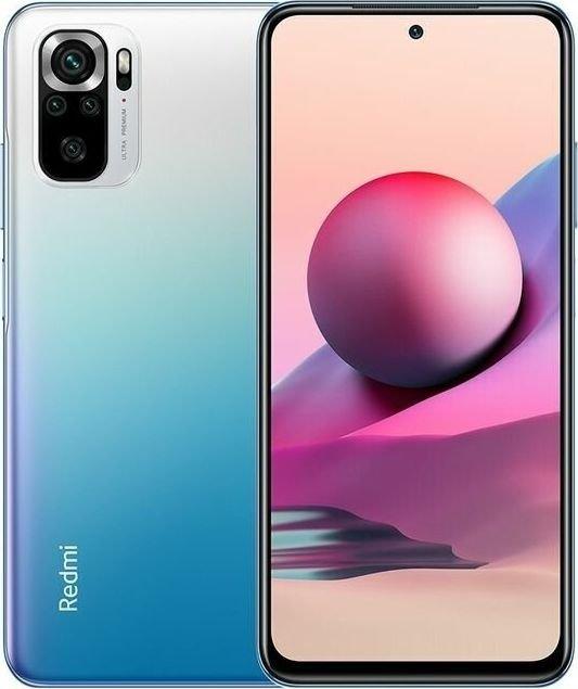 Smartfon Xiaomi Redmi Note 10S 6/64GB Ocean Blue (33429) XIA-SM-000517 Mobilais Telefons